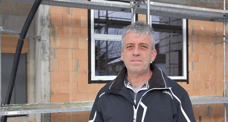 Samuel Gerber élu maire de Lajoux