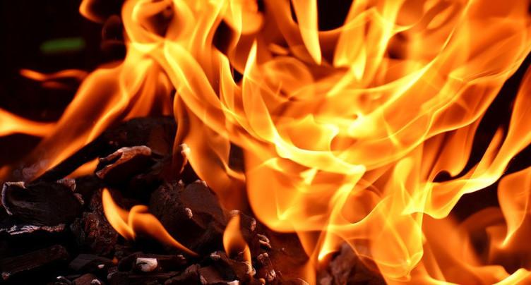 Début d'incendie au Landeron