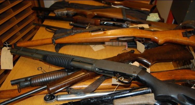 Collecte gratuite d'armes et de munitions