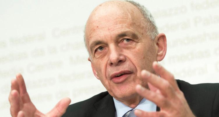 Ueli Maurer fait l'éloge des valeurs suisses au WEF