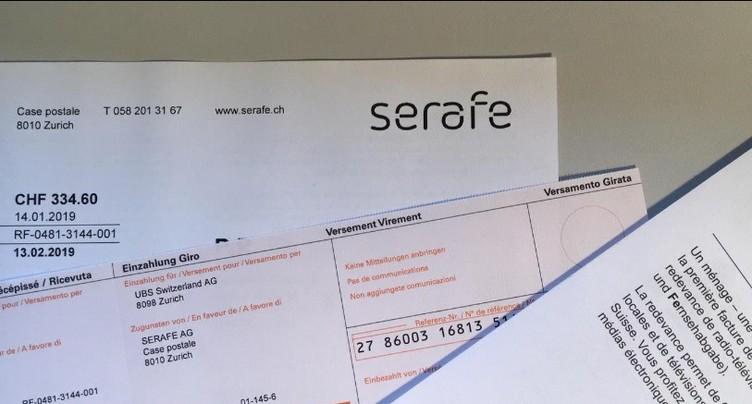 Méli-mélo dans les factures de Serafe