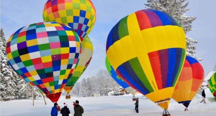 Des mini-montgolfières en tous points identiques aux grandes