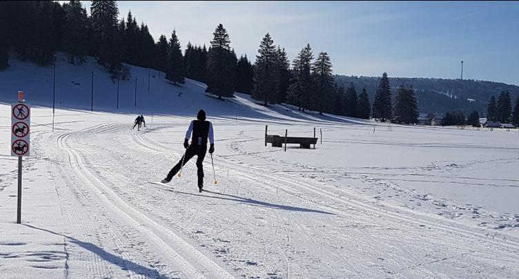 Succès du ski de fond dans le Jura