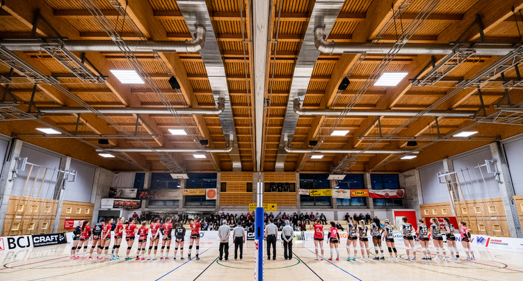 Volleyball Franches-Montagnes - NUC