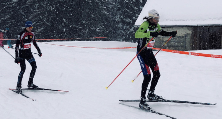 Un Tour de Sagnard sous la neige