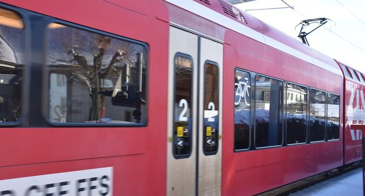 Deux mois sans train entre La Chaux-de-Fonds et Sonceboz