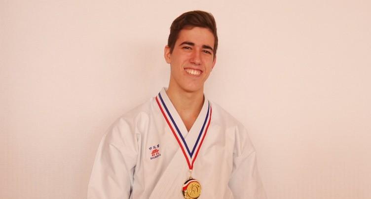 De l'or pour Matias Moreno Domont
