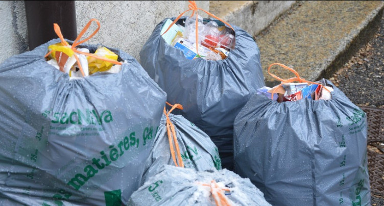 Opération ramassage de déchets à Moutier