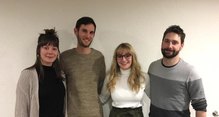 Quatre jeunes socialistes viseront le Conseil national