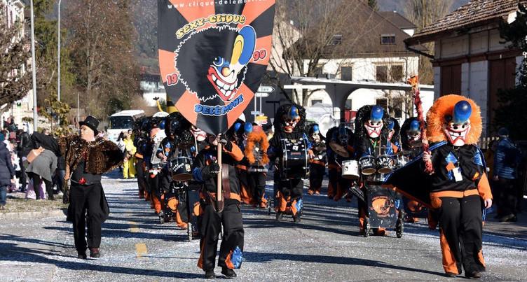 Présence carnavalesque du Jura à la Fête des Vignerons