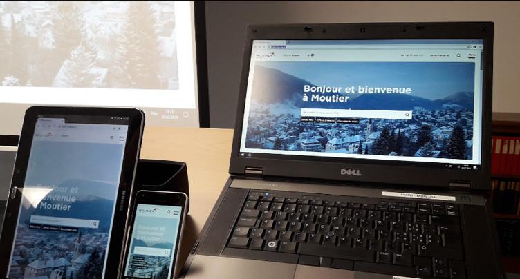 Un nouveau site internet pour Moutier