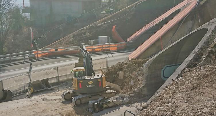 Les travaux reprennent sur l'A16