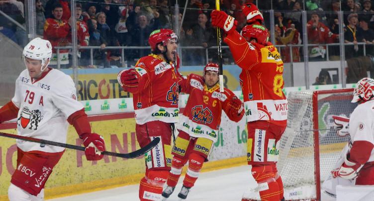Le HC Bienne s'incline en match amical