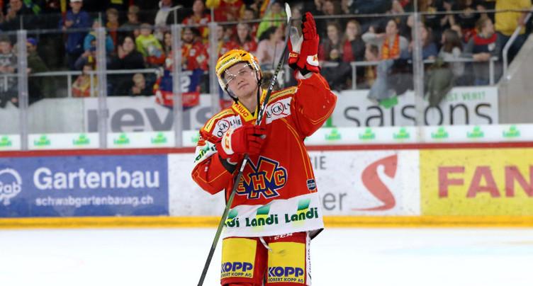 Toni Rajala lance le HC Bienne