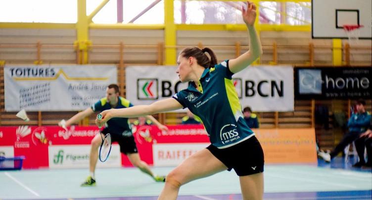 Match nul de La Chaux-de-Fonds en badminton