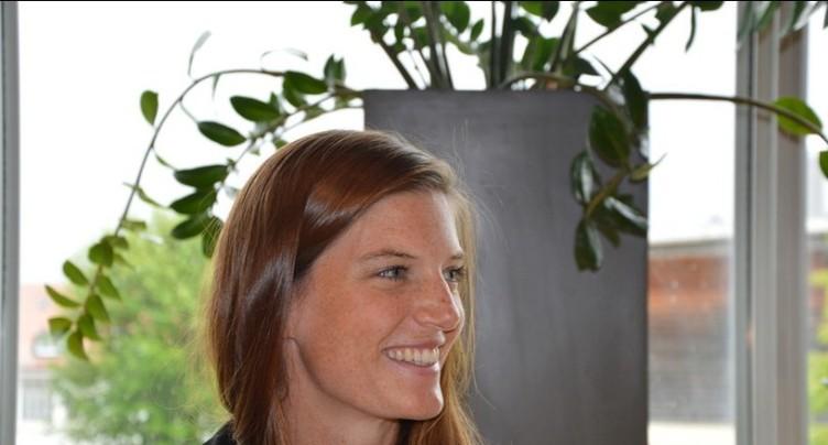 Lea Sprunger championne d'Europe en salle!