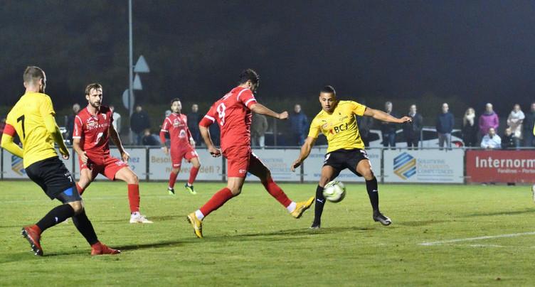 Le FC Bienne tombe de haut