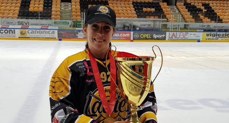Laura Desboeufs championne de suisse !