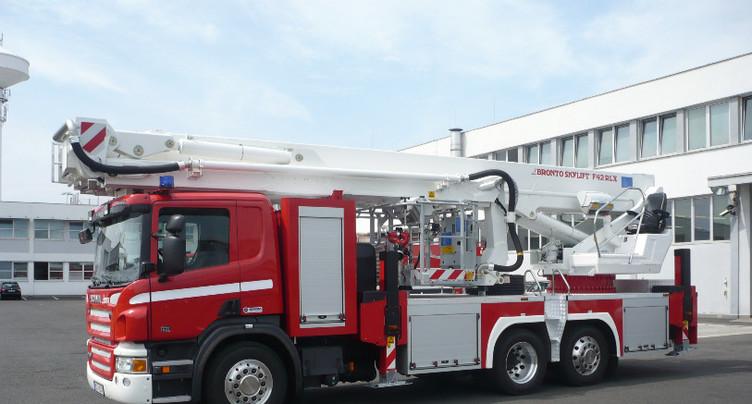 La Chaux-de-Fonds : une échelle de 42 mètres