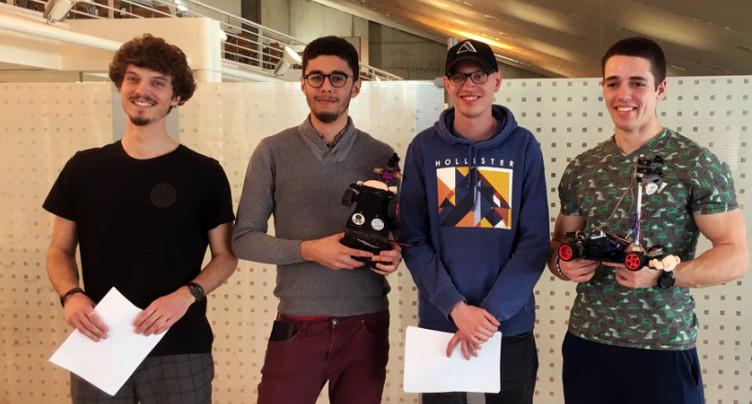 NXP Cup : deux équipes de la HE-Arc Ingénierie qualifiées pour la finale européenne