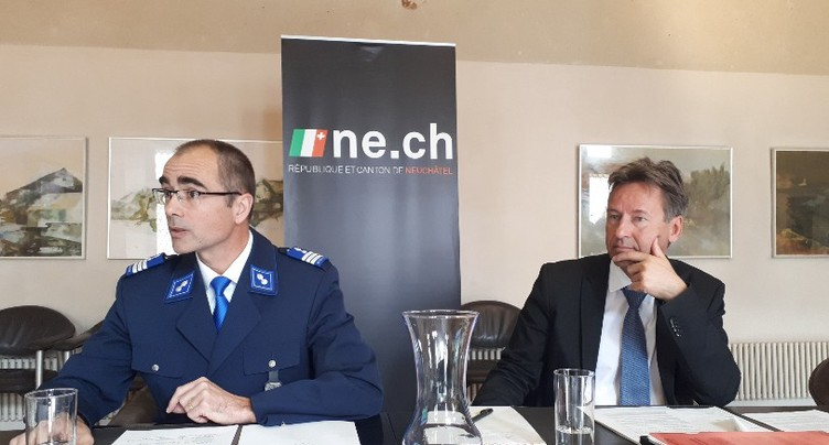 De moins en moins de crimes à Neuchâtel