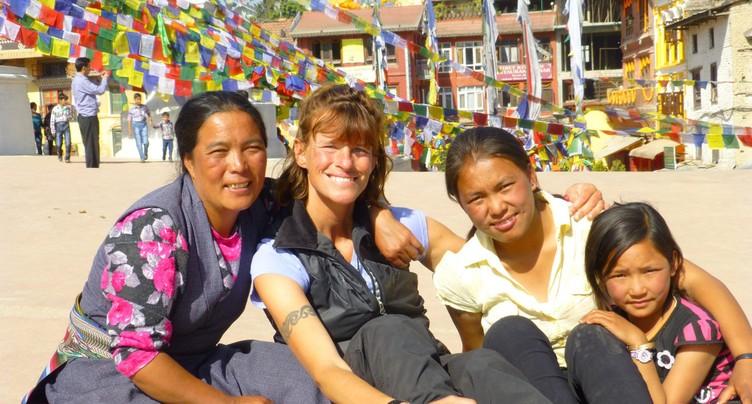 Pas à pas à travers le Népal