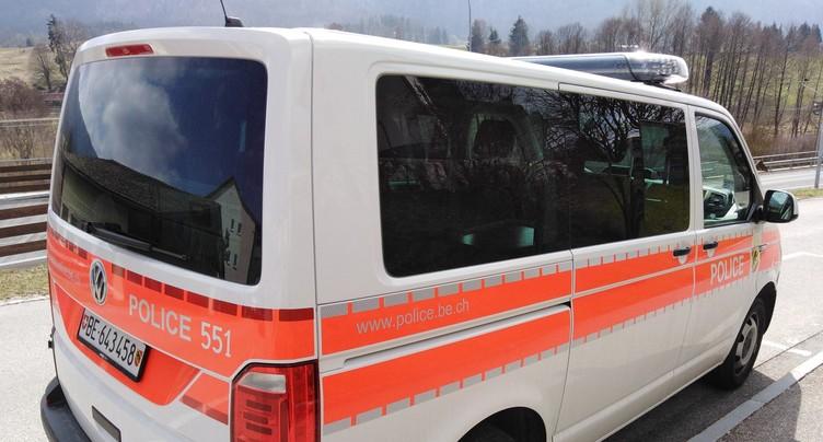 Grave accident entre Douanne et Tüscherz