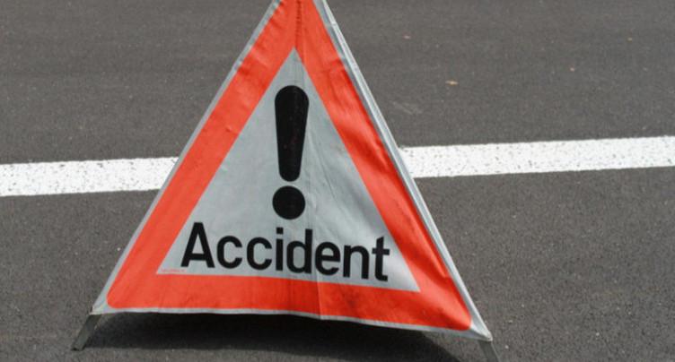 Un accident causé par la neige à Boncourt