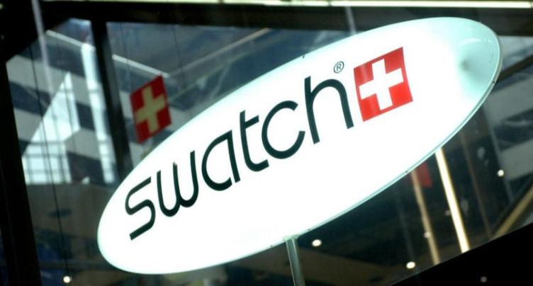 Résultats semestriels en baisse pour Swatch Group