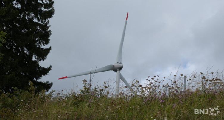 Tourisme neuchâtelois ne veut pas d'éoliennes au Crêt Meuron