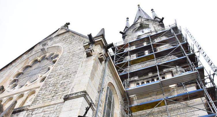 Coup de pouce à la rénovation de l'église du Pasquart