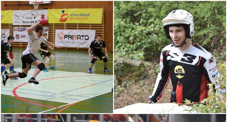 Trial, hockey sur glace et tchoukball