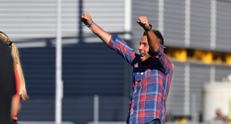 Anthony Sirufo au FC Bienne
