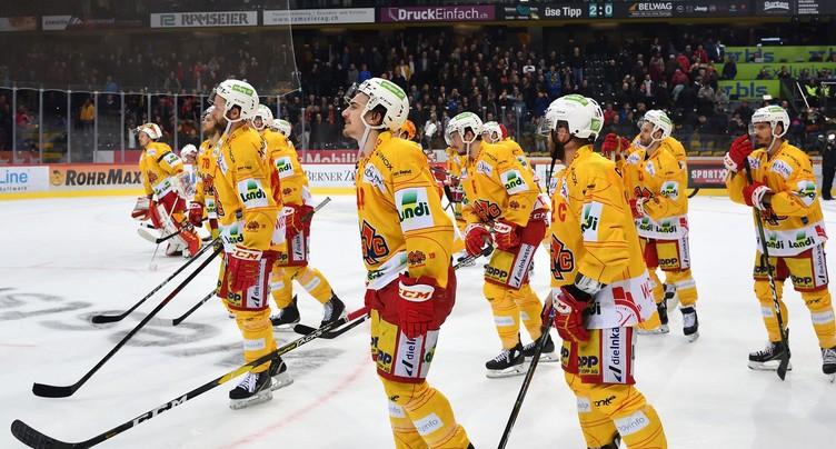 Pas de finale pour le HC Bienne
