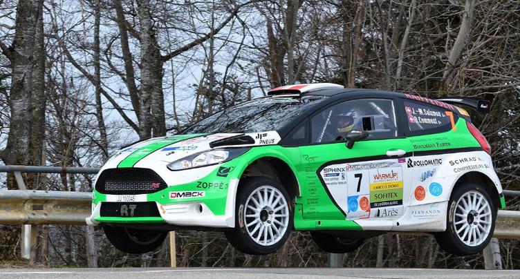 Jean-Marc Salomon 2e Suisse au Rallye Valli Ossolane