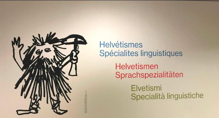 Le parler suisse s'expose au Centre Dürrenmatt