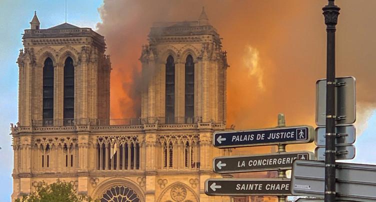« Tous les bâtiments vieux de plusieurs siècles ont été touchés par les flammes »