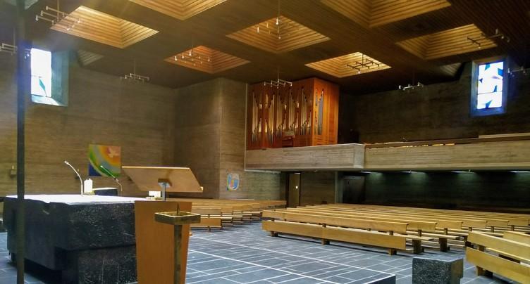 L'église du Christ-Roi en diffusion européenne