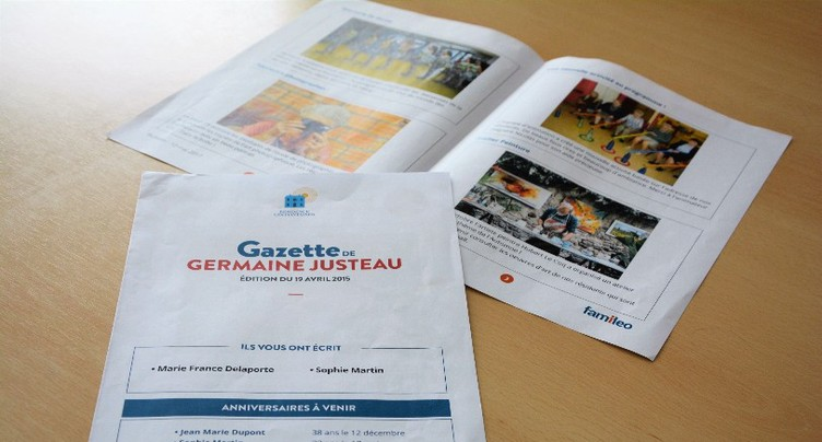 La gazette qui ravit les grands-parents