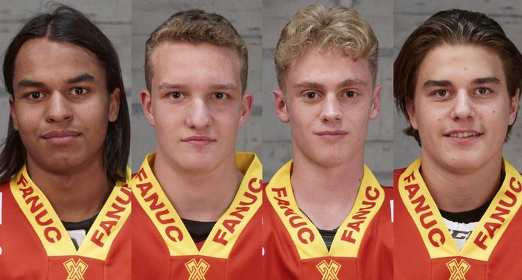 Quatre Biennois sélectionnés pour les mondiaux U18