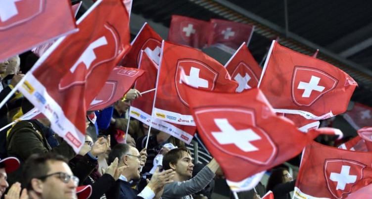 Encore du boulot pour l'équipe de Suisse