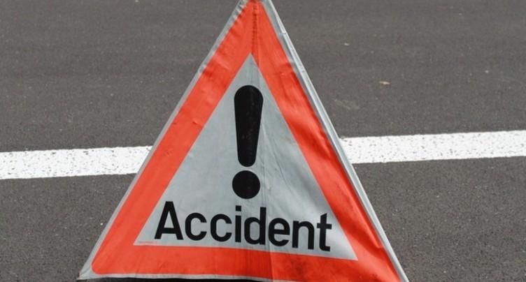 Accident à Villeret