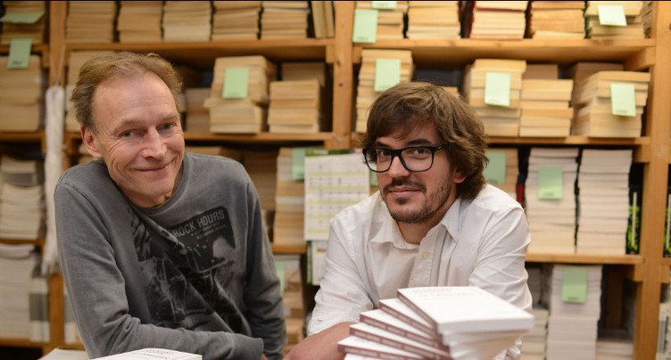 Edouard Choffat et Yves Hänggi en tournée à Madagascar