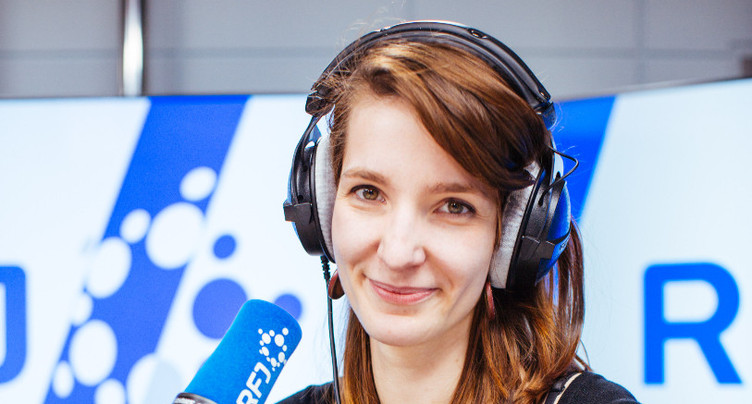 Caroline Toussaint, finaliste du Swiss Press Award