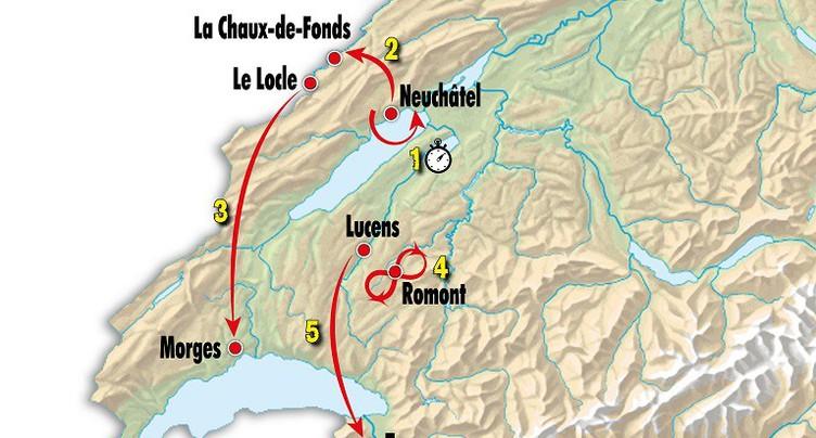 Tour de Romandie: la Matinale spéciale