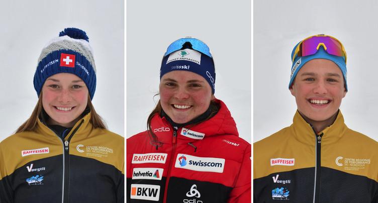 Trois athlètes du Giron Jurassien sélectionnés dans les cadres Swiss-Ski