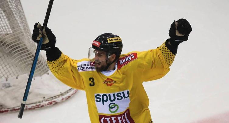 Le MVP d'Autriche au HC Bienne