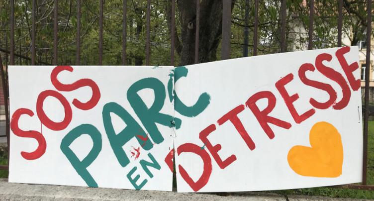 Plus de 5000 signatures pour sauver un parc public