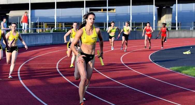 Fanette Humair championne de Suisse du 400m en salle