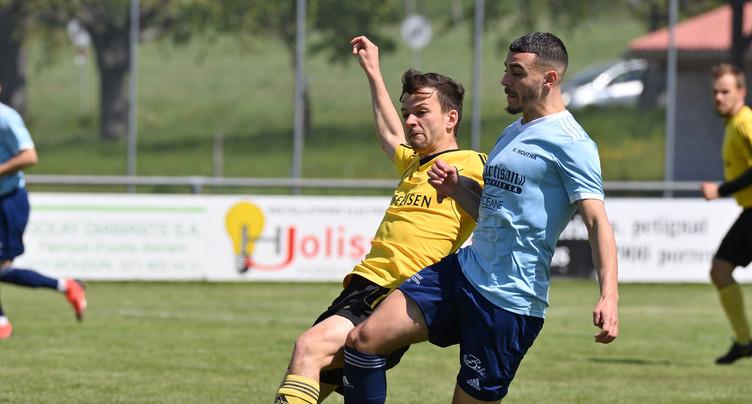 Le FC Cornol - La Baroche accroche le FC Moutier